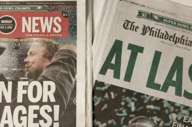How The Philadelphia Inquirer made the most of the Eagles' Super Bowl win