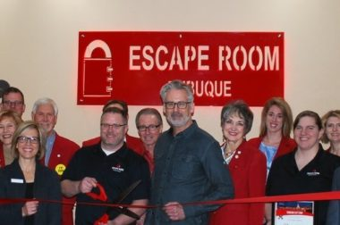 This Iowa newspaper's maintenance manager led the creation of its latest product — an escape room