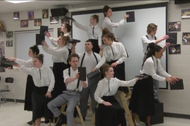 This high school theater class turned a local news story about the legacy of a freed slave into a play