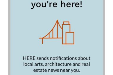 Introducing HERE: A location-aware app that puts you at the center of local news discovery.