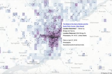 The Lenfest Lab and The Brown Institute are partnering on a project to map local news
